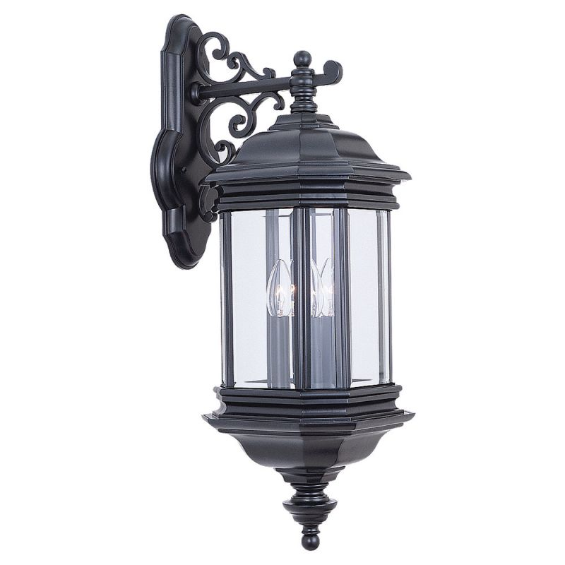 Sea Gull Lighting 8841 Hill Gate 3 Light Outdoor Lantern Wall Sconce