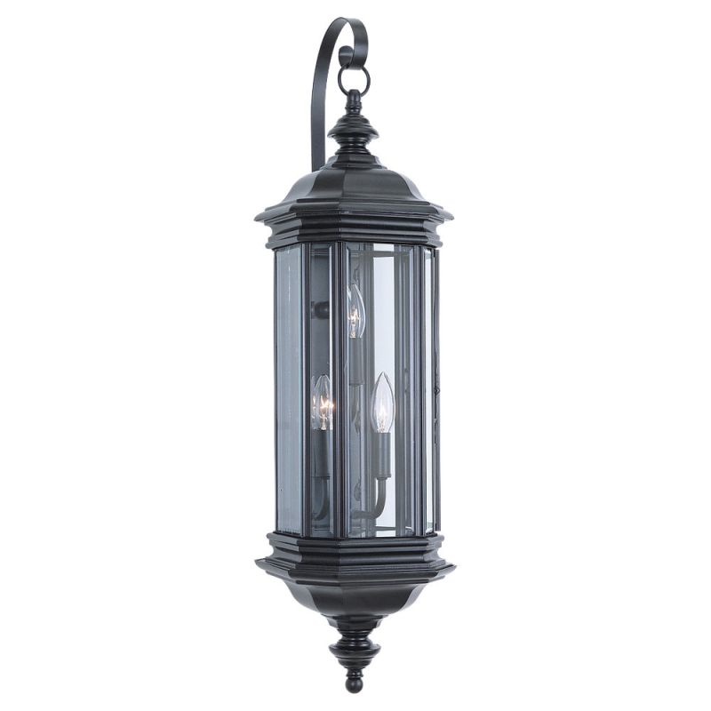 Sea Gull Lighting 8842 Hill Gate 3 Light Outdoor Lantern Wall Sconce