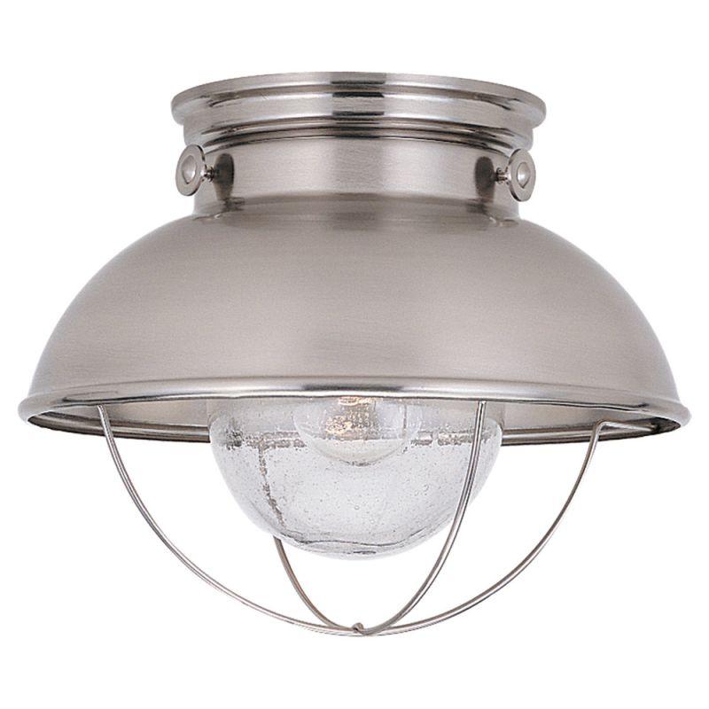 Sea Gull Lighting 8869 Sebring 1 Light Outdoor Flush Mount Ceiling