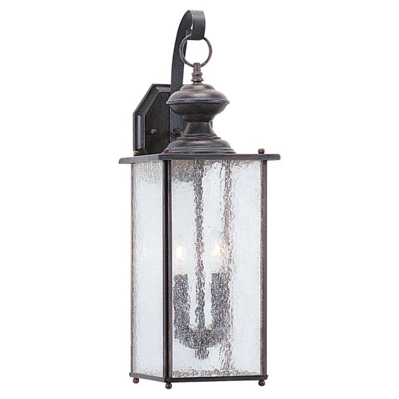 Sea Gull Lighting 8883 Jamestowne 2 Light Outdoor Lantern Wall Sconce