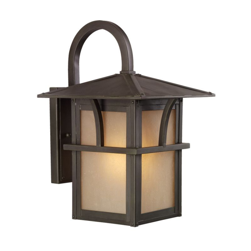 Sea Gull Lighting 88881 Medford Lakes 1 Light Outdoor Lantern Wall