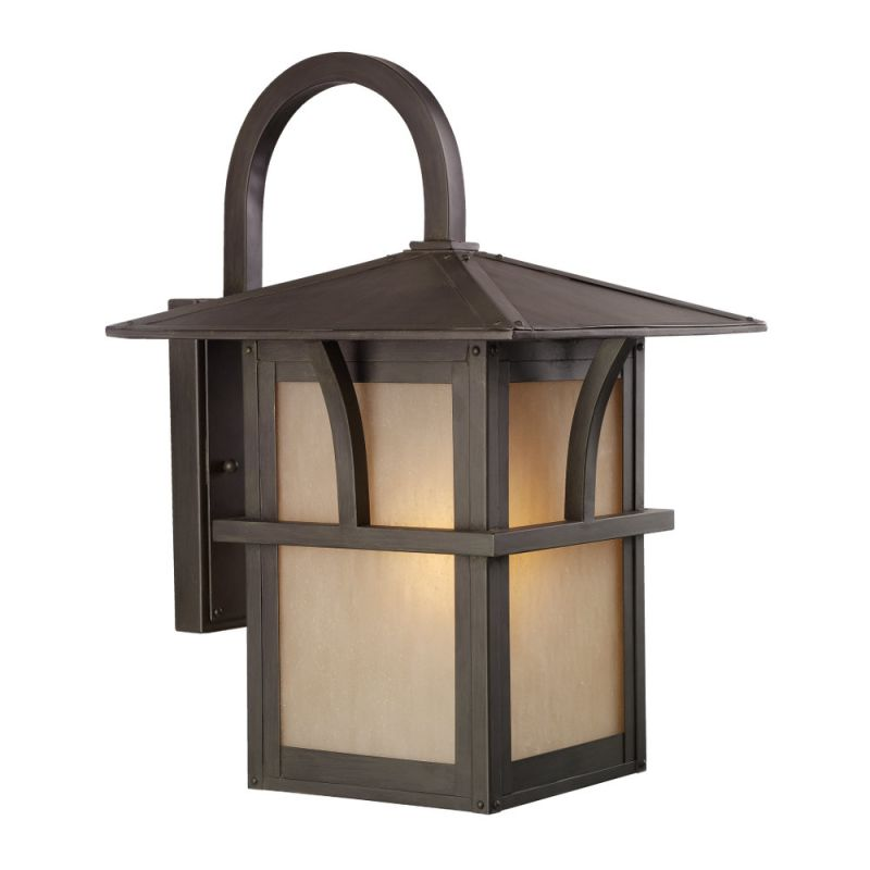 Sea Gull Lighting 88882 Medford Lakes 1 Light Outdoor Lantern Wall