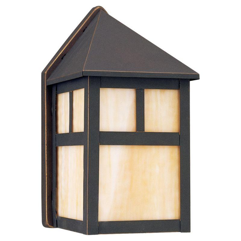 Sea Gull Lighting 89015BLE Prairie Statement 1 Light Outdoor Lantern