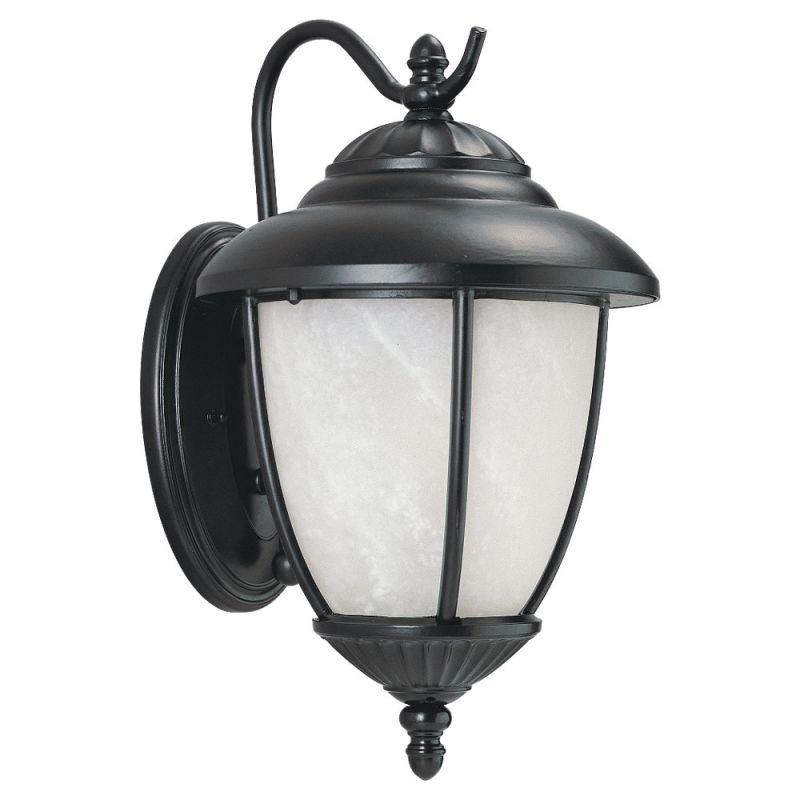 Sea Gull Lighting 89049PBLE Yorktown 1 Light Outdoor Lantern Wall