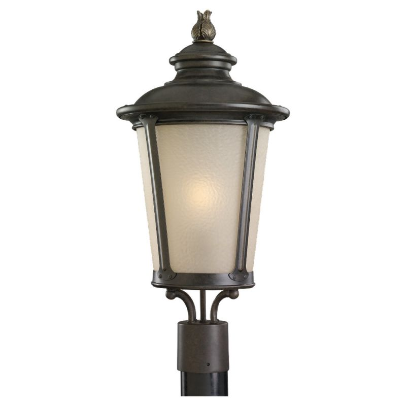 Sea Gull Lighting 89240BL Cape May 1 Light Outdoor Lantern Post Light