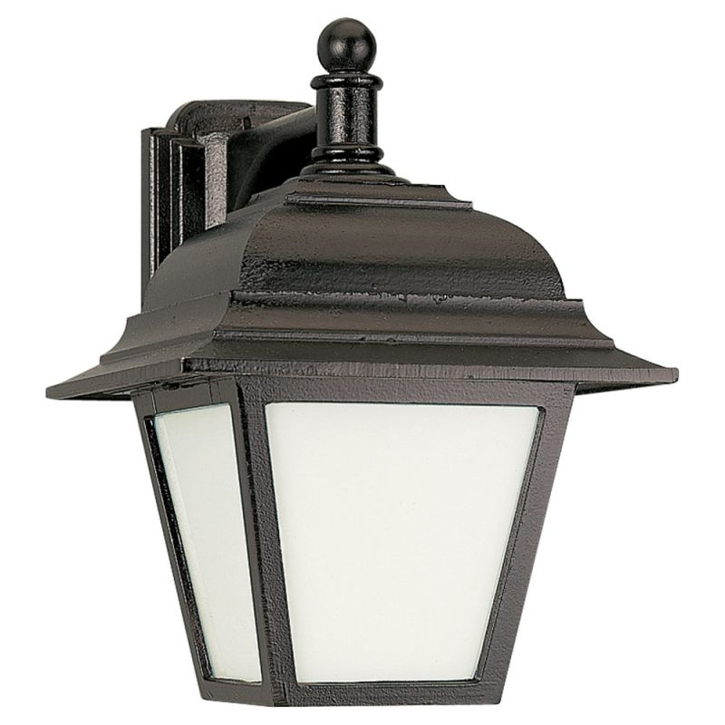 Sea Gull Lighting 89316PBLE Bancroft 1 Light Outdoor Lantern Wall