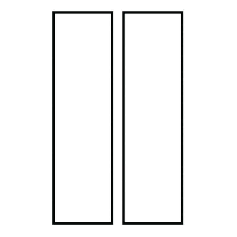 Sea Gull Lighting 90621 Address Light Number Tile White Plastic