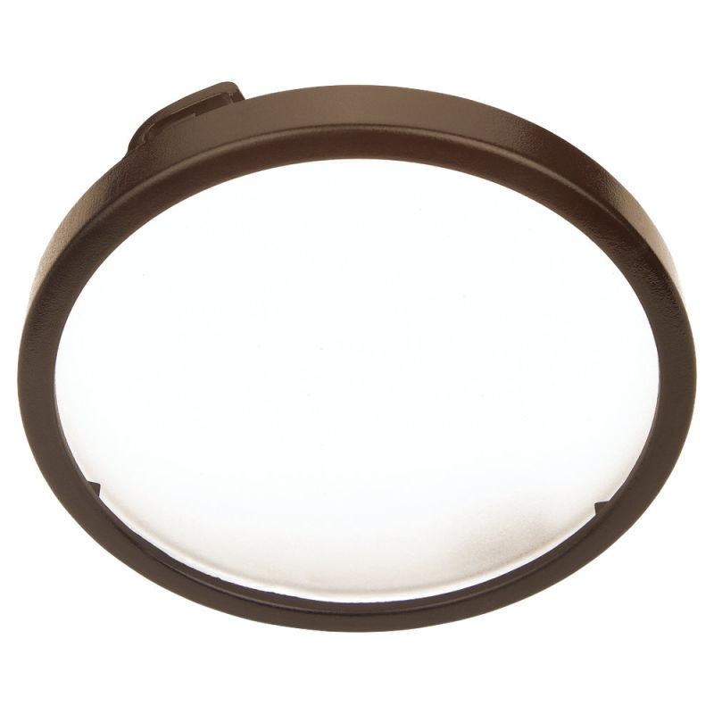 Sea Gull Lighting 9414 Ambiance LX Disk Light Lens Painted Antique