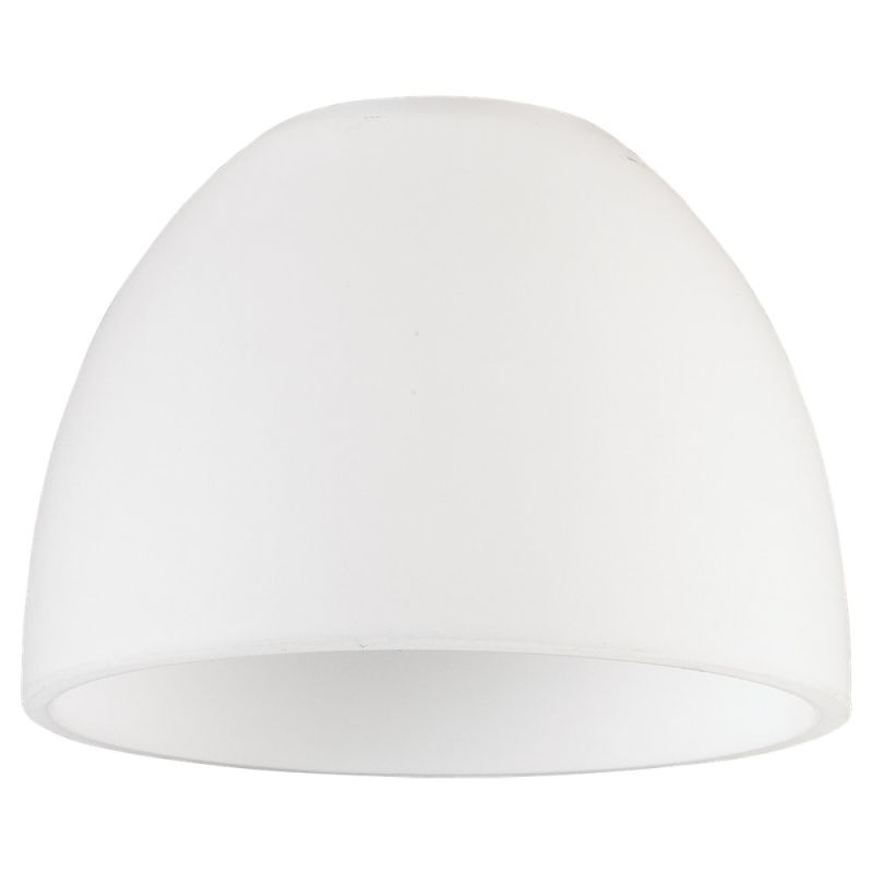 Sea Gull Lighting 94363 Single Dome Shaped Glass Shade Opal Cased