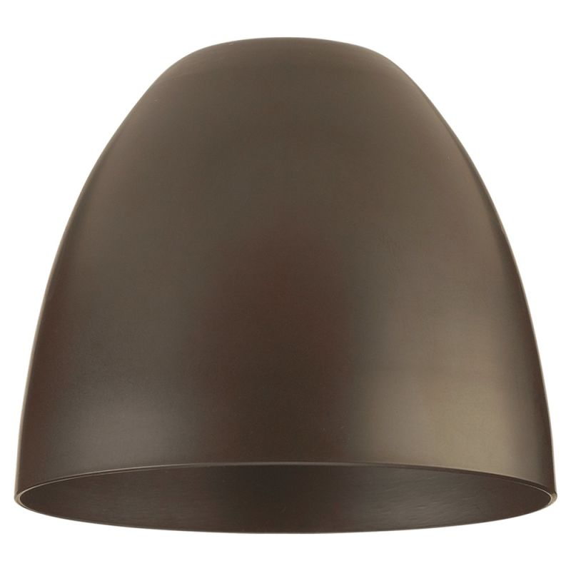 Sea Gull Lighting 94364 Single Dome Shaped Metal Shade Antique Bronze