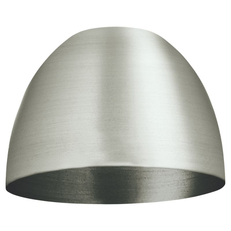 Sea Gull Lighting 94364 Single Dome Shaped Metal Shade Brushed