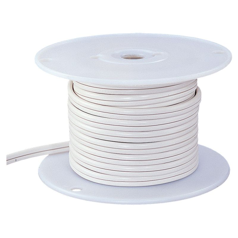 Sea Gull Lighting 9470 50´ Length Coil of Cord White Indoor Lighting