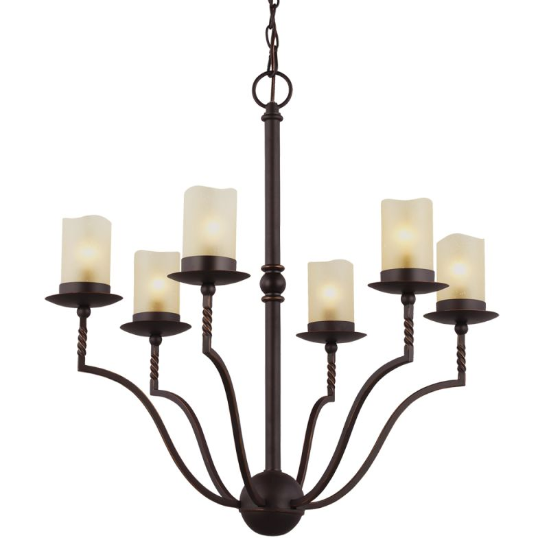 Sea Gull Lighting 3110606 Trempealeau 6 Light 1 Tier Candle Style