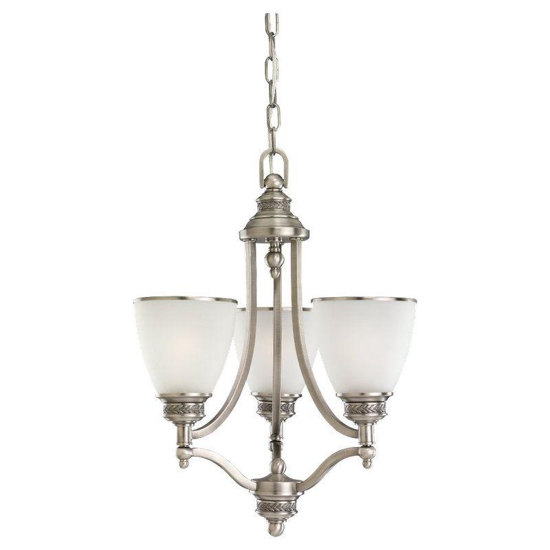 Sea Gull Lighting 31349 Laurel leaf 3 Light Single Tier Mini Sale $317.80 ITEM: bci529635 ID#:31349-965 UPC: 785652349966 :
