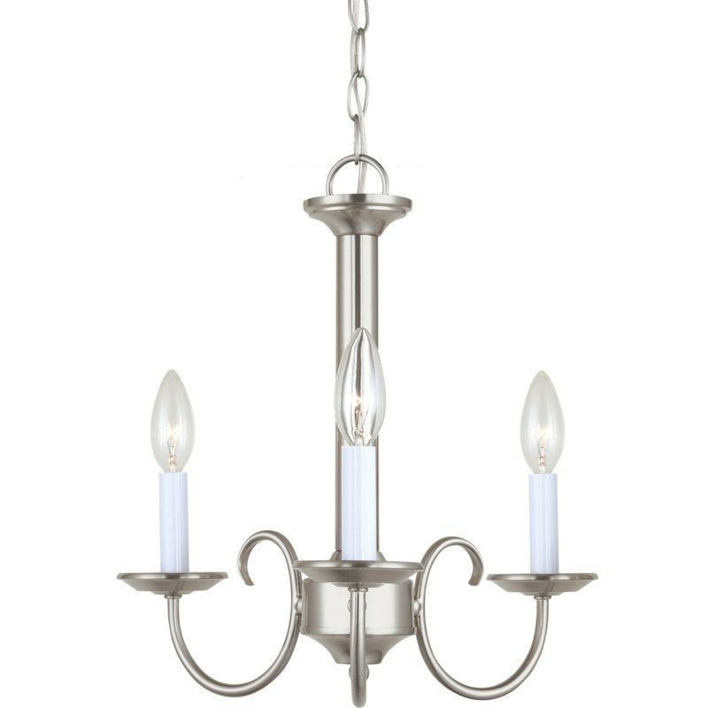 Sea Gull Lighting 31807 Holman 3 Light Single Tier Candle Style