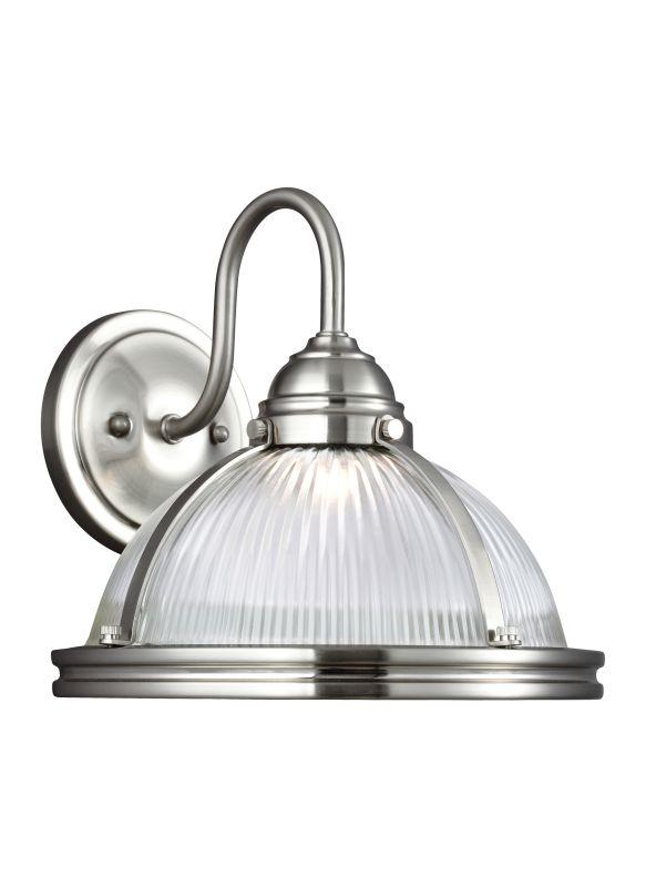 Sea Gull Lighting 4106091S Pratt Street LED Title 24 Bathroom Sconce