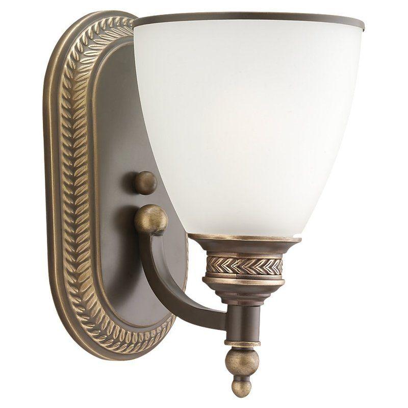 Sea Gull Lighting 41350 Laurel Leaf 1 Light Bathroom Sconce Estate
