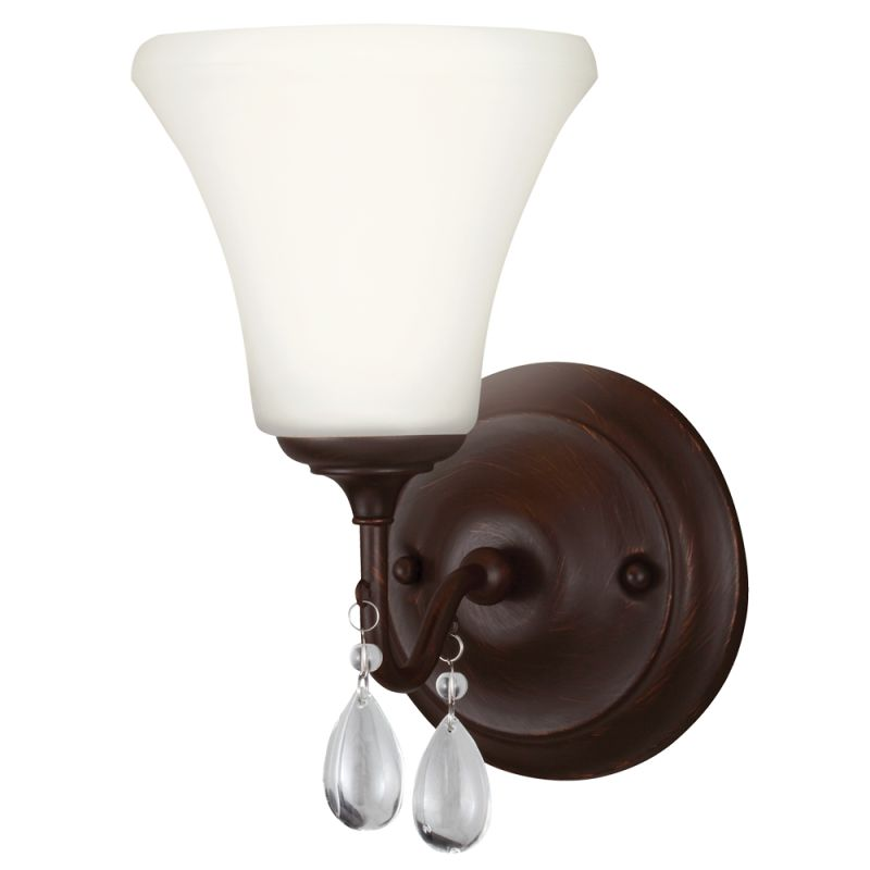 Sea Gull Lighting 4410501 West Town 1 Light Reversible Wall Sconce