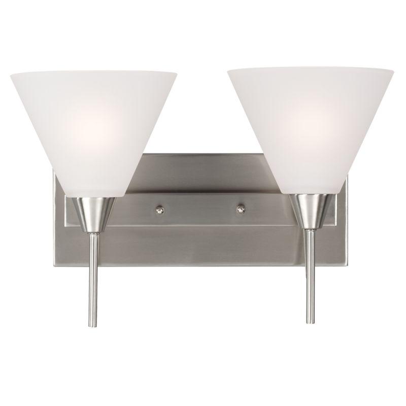 Sea Gull Lighting 4411202BLE Ashburne 2 Light Energy Star Reversible