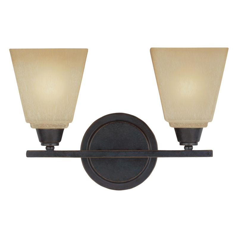 Sea Gull Lighting 4413002BLE Parkfield 2 Light Energy Star Reversible
