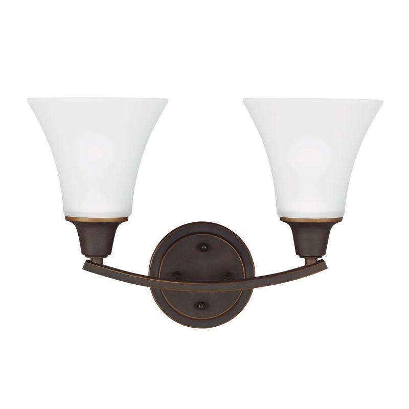 Sea Gull Lighting 4413202BLE Metcalf 2 Light Energy Star Bathroom
