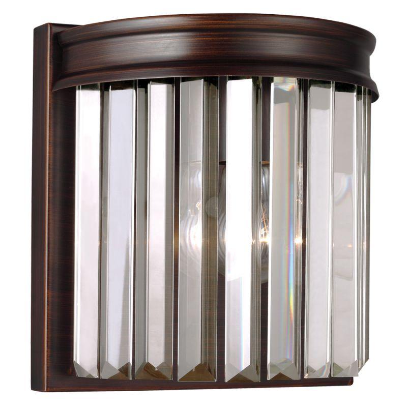 Sea Gull Lighting 4414001 Carondelet 1 Light ADA Reversible Wall Sale $70.00 ITEM: bci2665673 ID#:4414001-710 UPC: 785652260735 :