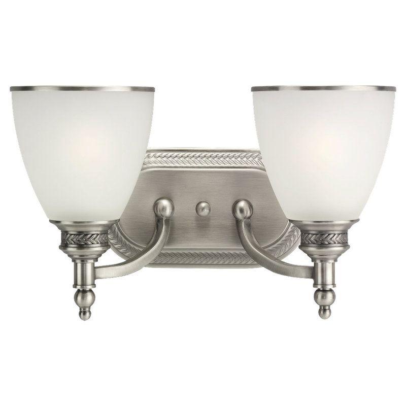 Sea Gull Lighting 44350 Laurel Leaf 2 Light Bathroom Vanity Light Sale $113.31 ITEM: bci529842 ID#:44350-965 UPC: 785652443558 :