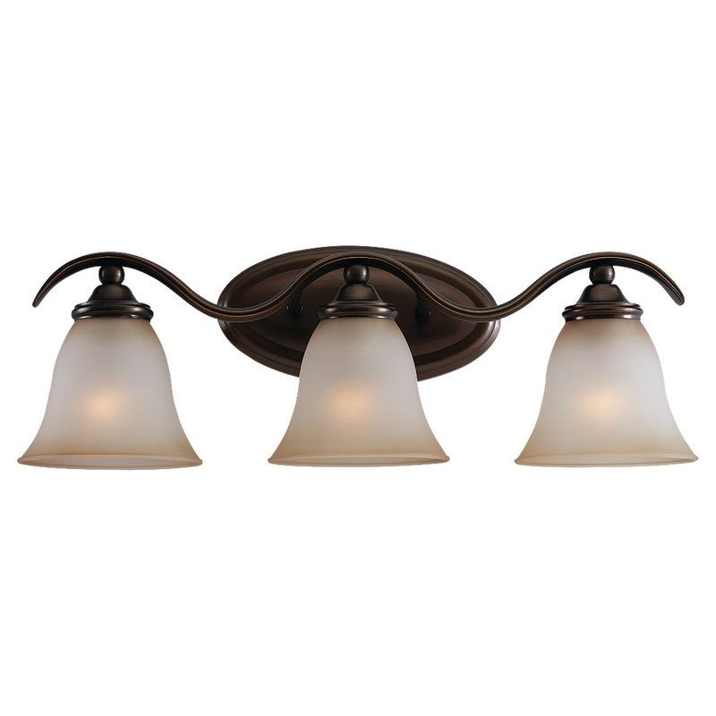 Sea Gull Lighting 44361 Rialto 3 Light Bathroom Vanity Light Russet Sale $61.00 ITEM: bci529847 ID#:44361-829 UPC: 785652361869 :