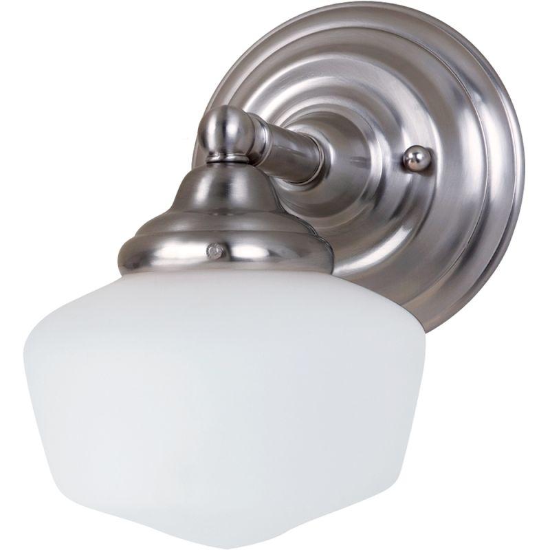 Sea Gull Lighting 44436 Academy 1 Light Bathroom Sconce Brushed Nickel