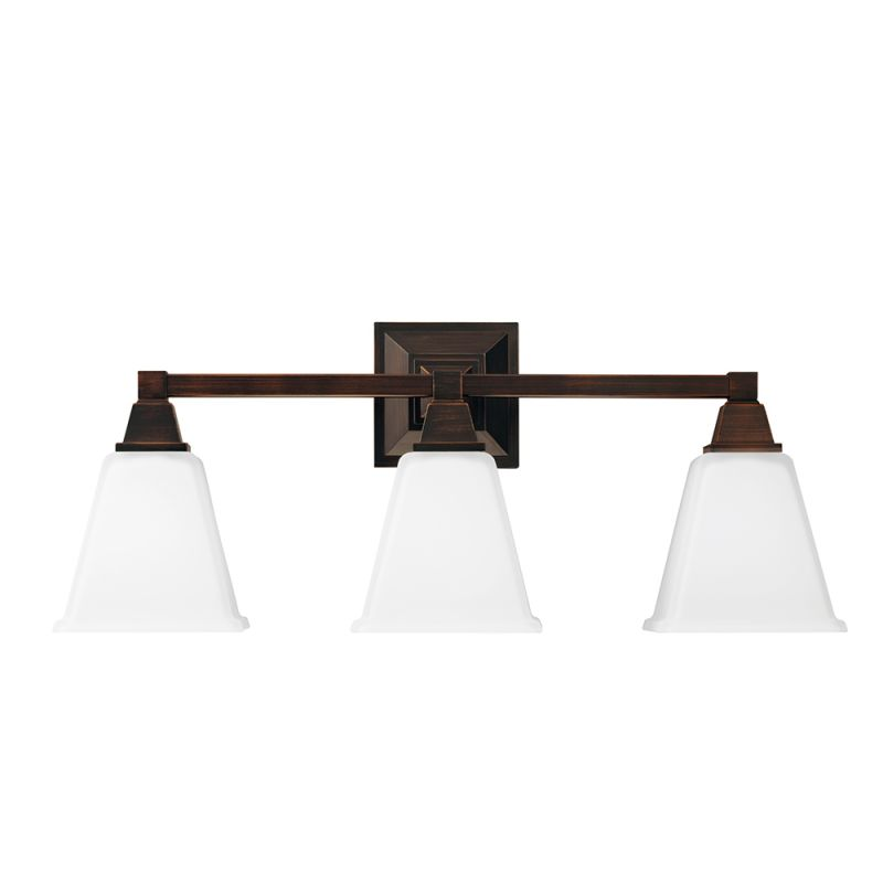 Sea Gull Lighting 4450403BLE Denhelm 3 Light Energy Star Bathroom