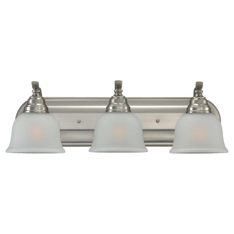 Sea Gull Lighting 44627BLE Wheaton 3 Light Energy Star Bathroom Vanity