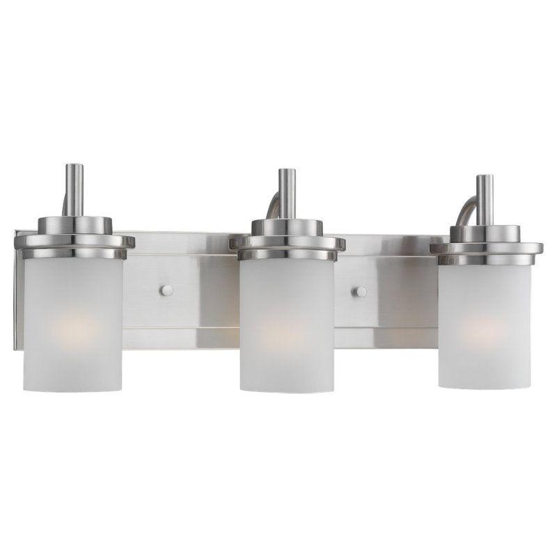Sea Gull Lighting 44662 Winnetka 3 Light Bathroom Vanity Light Brushed Sale $167.28 ITEM: bci1198868 ID#:44662-962 UPC: 785652446665 :