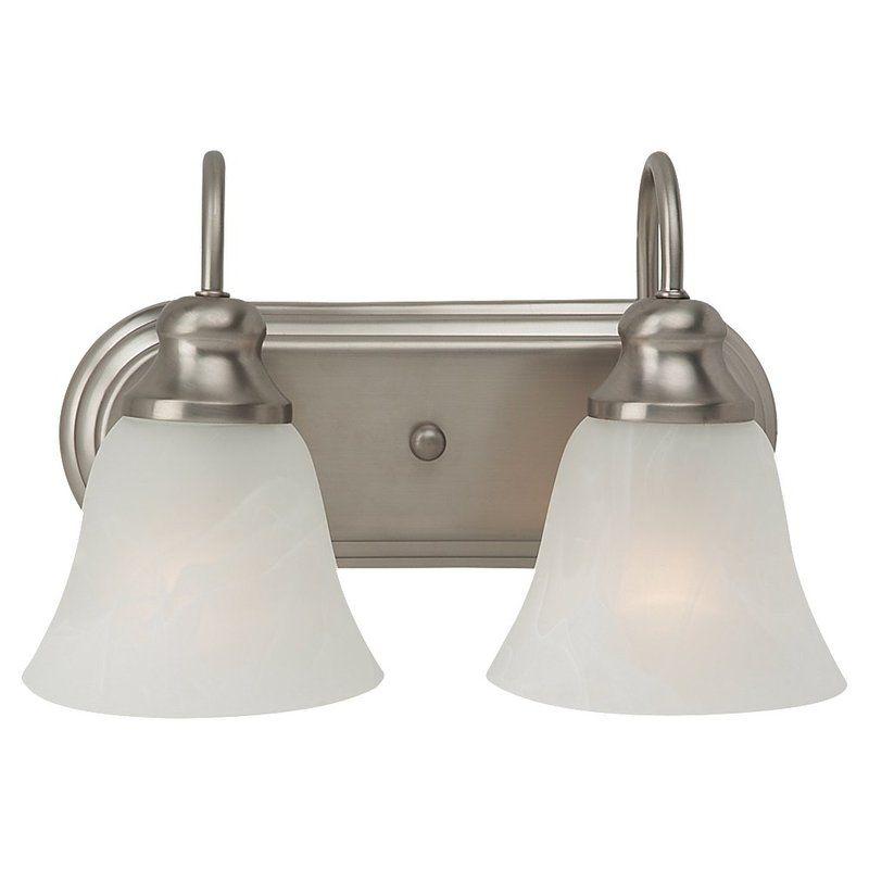 Sea Gull Lighting 44940BLE Windgate 2 Light Energy Star Bathroom