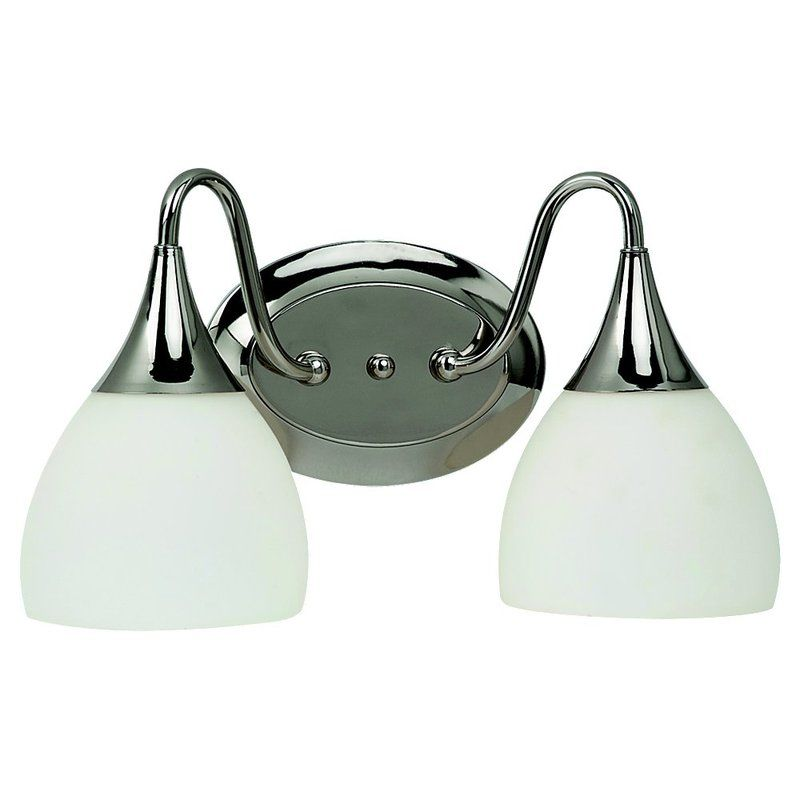 Sea Gull Lighting 44972 Solana 2 Light Bathroom Vanity Light Polished