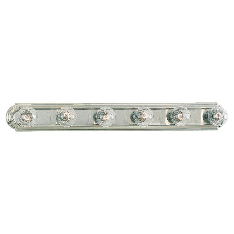 Sea Gull Lighting 4702 De-Lovely 6 Light ADA Bathroom Vanity Strip