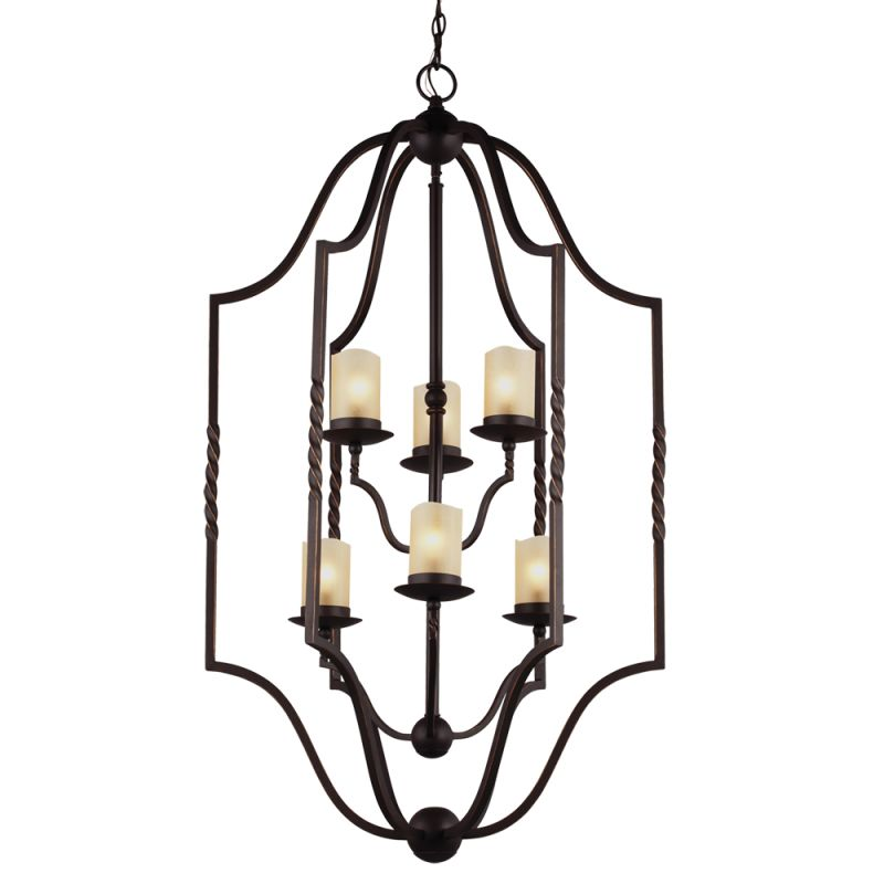 Sea Gull Lighting 5110606 Trempealeau 6 Light Large Pendant Roman