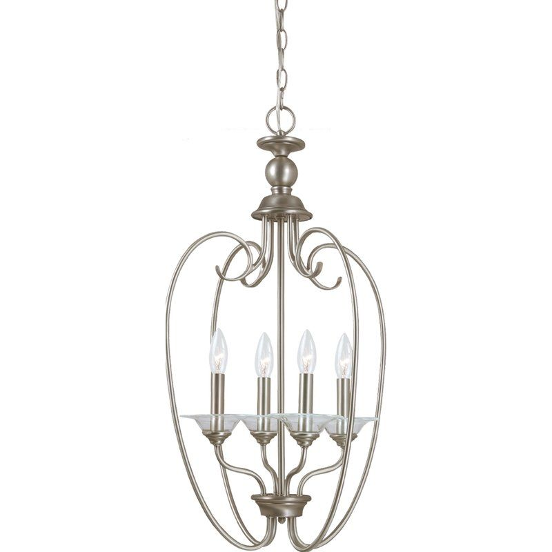 Sea Gull Lighting 51316 Lemont 4 Light Full Sized Pendant Antique