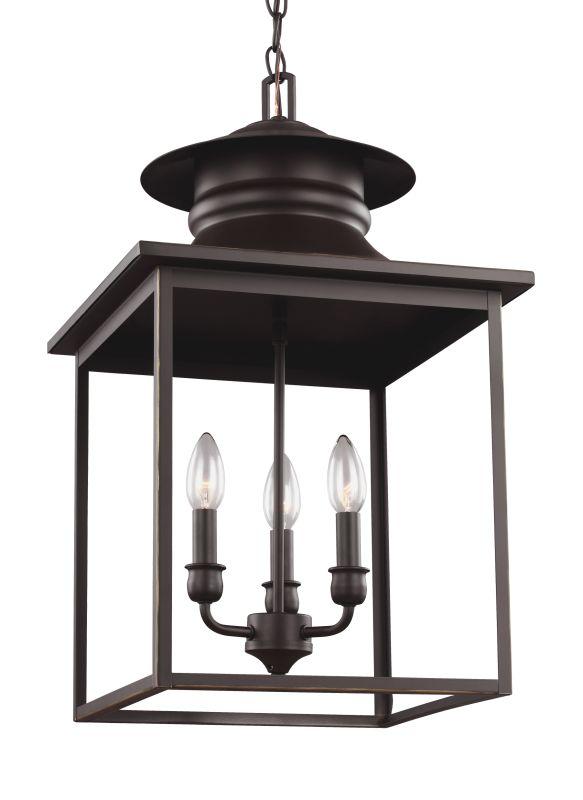 Sea Gull Lighting 5136103 Huntsville 3 Light Foyer Pendant Heirloom