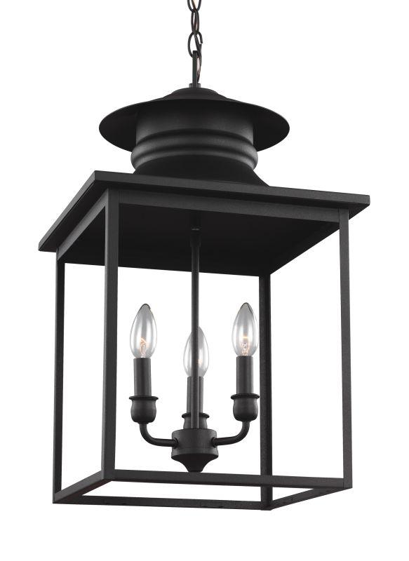 Sea Gull Lighting 5136103 Huntsville 3 Light Foyer Pendant Blacksmith