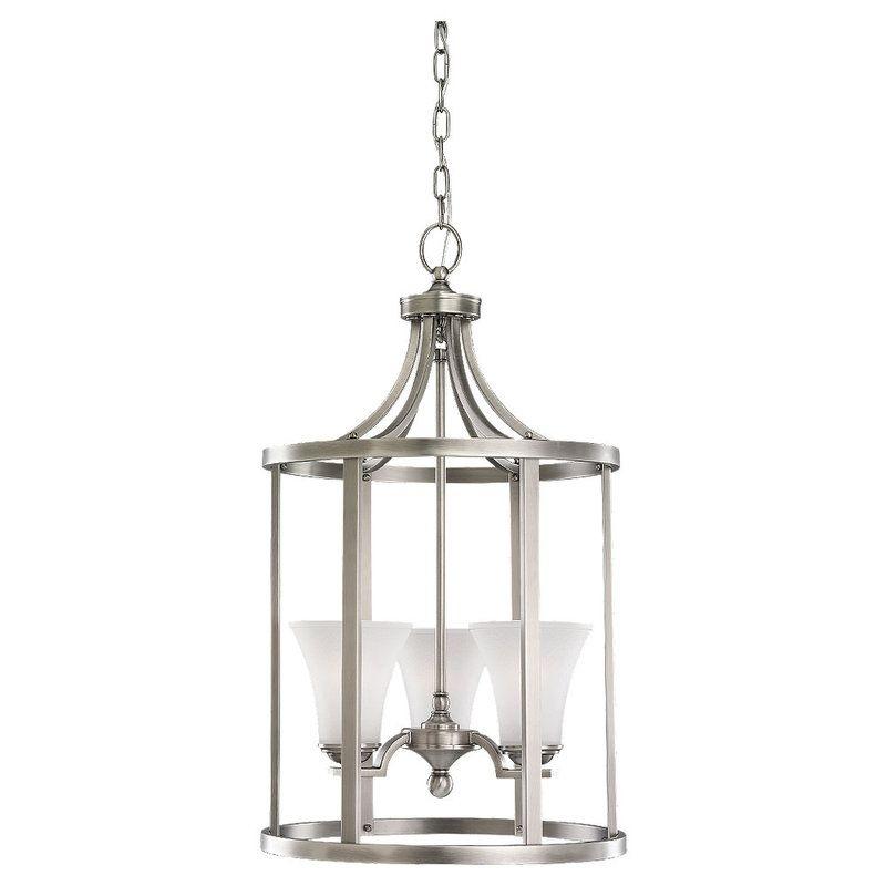 Sea Gull Lighting 51375 Somerton 3 Light Full Sized Pendant Antique