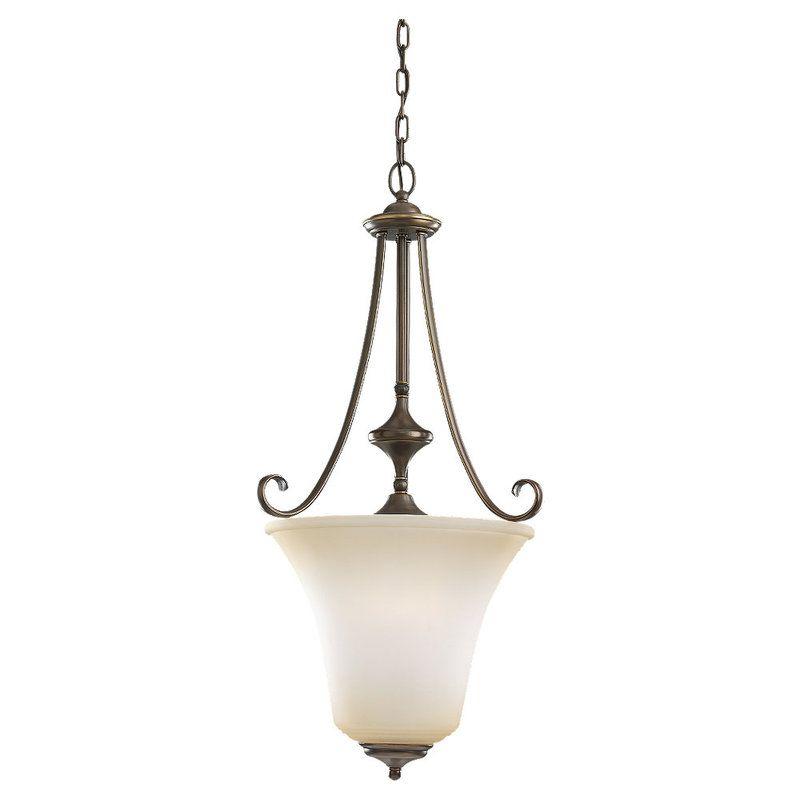 Sea Gull Lighting 51380 Parkview 3 Light Full Sized Pendant Russet