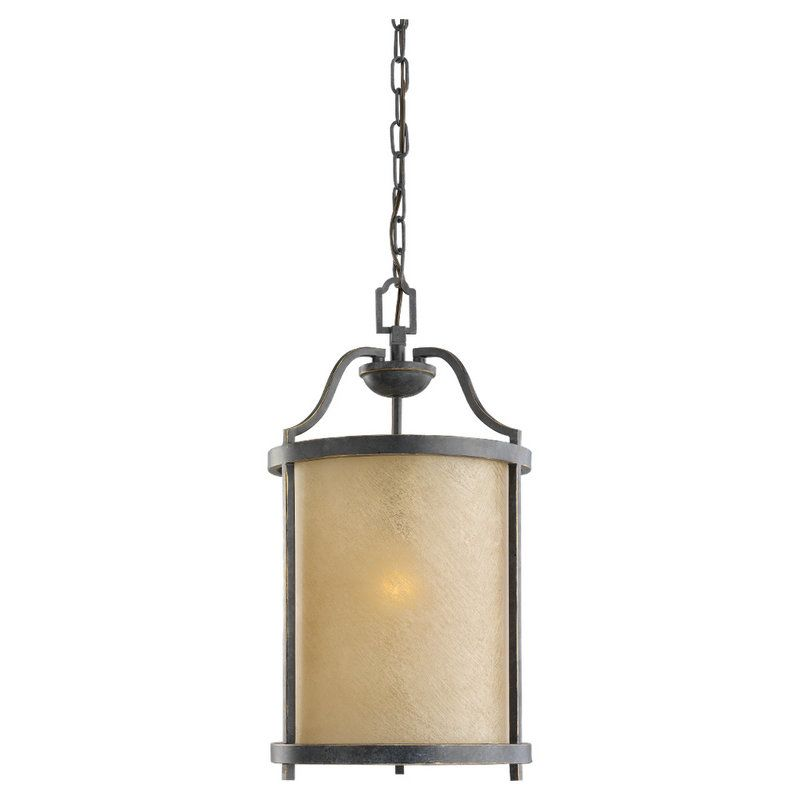 Sea Gull Lighting 51520BLE Roslyn 1 Light Energy Star Title 24 Drum