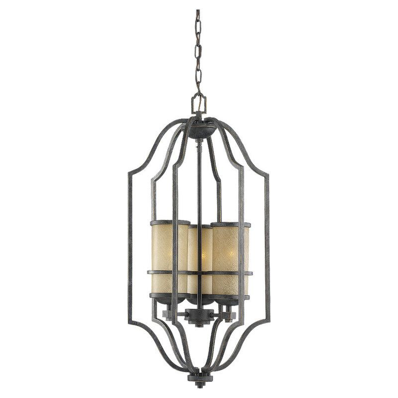 Sea Gull Lighting 51521 Roslyn 3 Light Full Sized Pendant Flemish