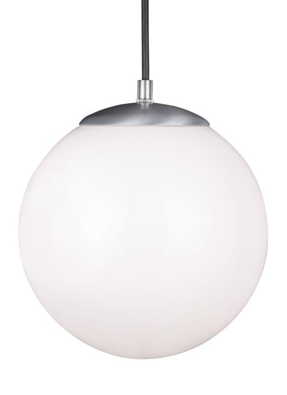 Sea Gull Lighting 602091S Hanging Globe LED Title 24 Pendant Satin