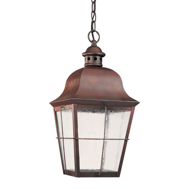 Sea Gull Lighting 606291S Chatham LED Outdoor Pendant Oxidized Bronze Sale $360.00 ITEM: bci2665717 ID#:606291S-46 UPC: 785652278174 :