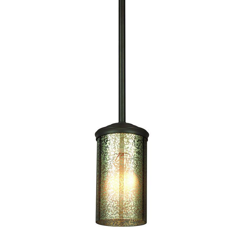 Sea Gull Lighting 6110401 Sfera 1 Light Mini Pendant Autumn Bronze