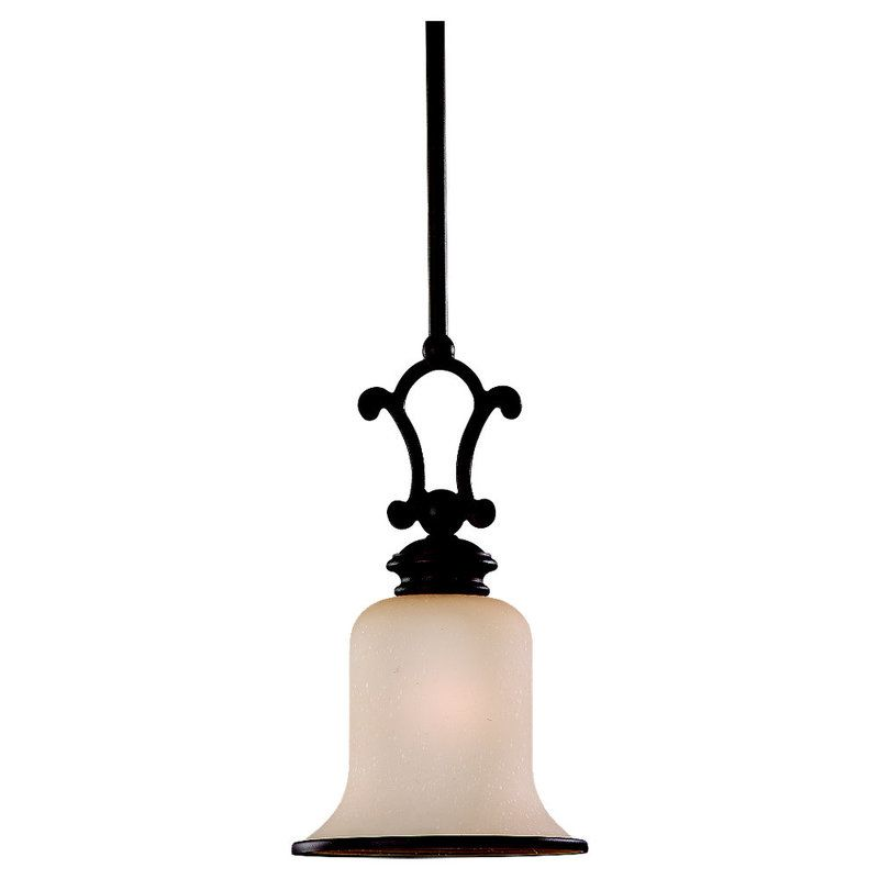 Sea Gull Lighting 61145BLE Acadia 1 Light Energy Star Title 24 Mini