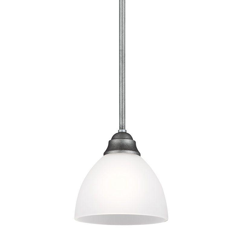 Sea Gull Lighting 6131401 Vitelli 1 Light Mini Pendant Weathered