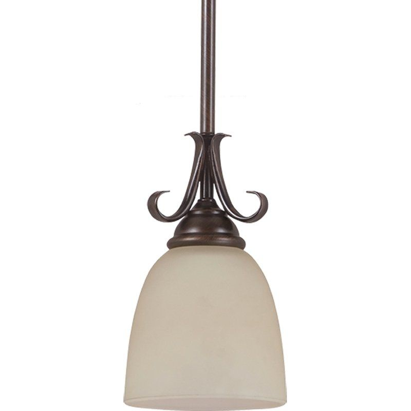 Sea Gull Lighting 61316BLE Lemont 1 Light Energy Star Title 24 Mini