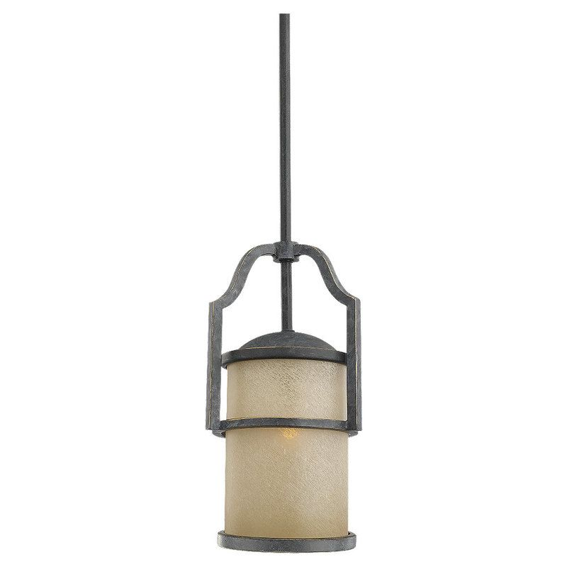 Sea Gull Lighting 61520 Roslyn 1 Light Mini Pendant Flemish Bronze